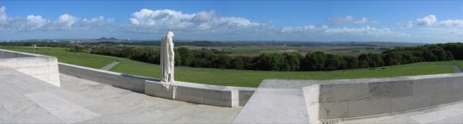 Monument de Vimy et plaine de Douai, 2004