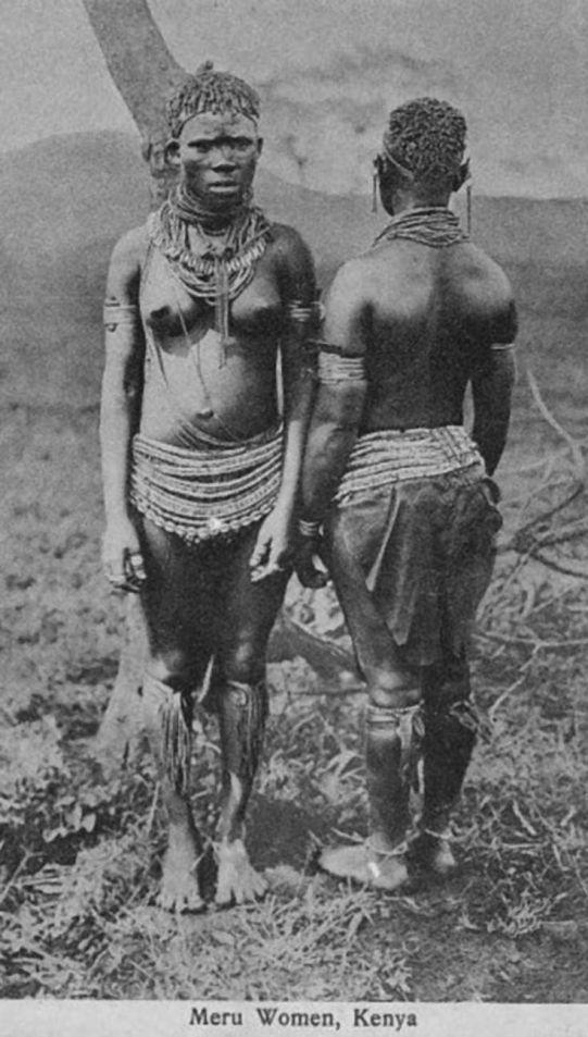 Meru women wear, Kenya
