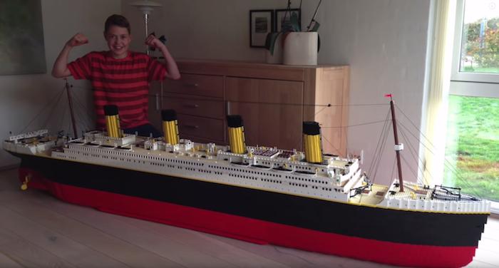 Titanic LEGO set recreation video how to