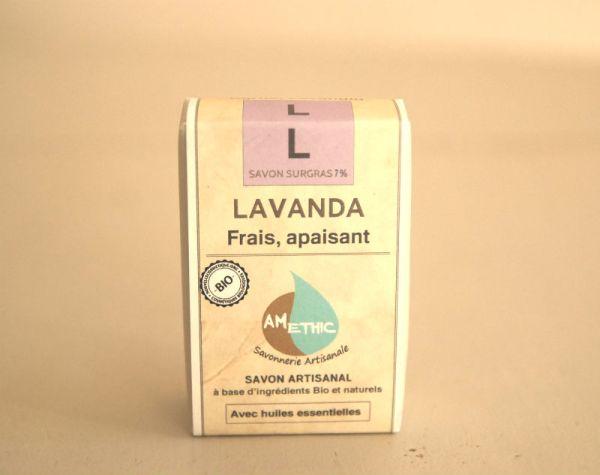 savon naturel bio lavande france amethic