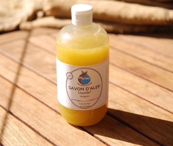 savon alep liquide amethic
