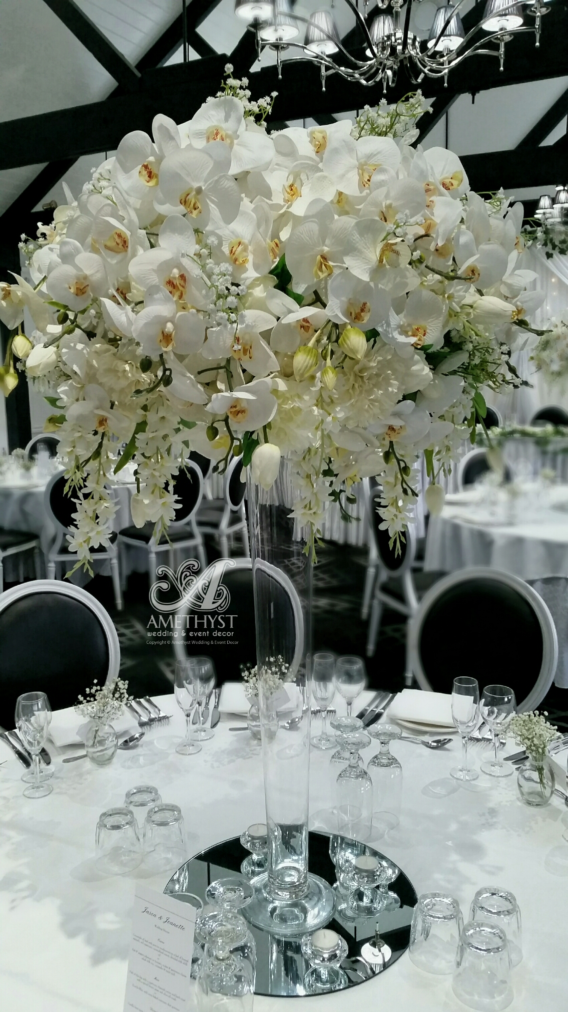 Tall White Orchid Centerpiece More Info Gtgt