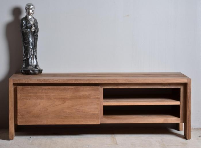 meuble tv teck dbodhi 120