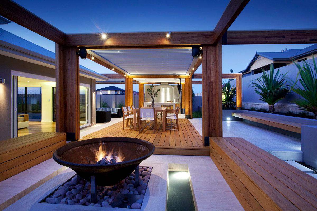 le prolongement naturel d une maison c est un espace au grand air