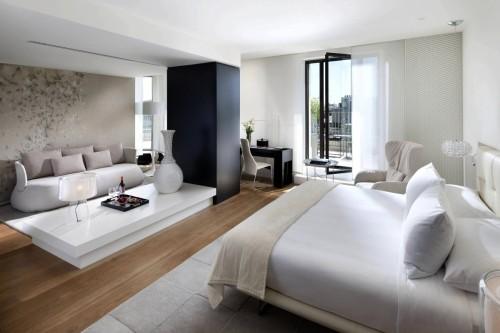 vous avez une chambre hyper spacieuse quelle chance et voici quelques idees pour bien la meubler