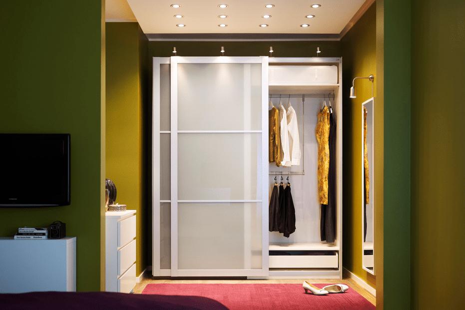 eclairage revetement plancher garde robe piece rangement epuration