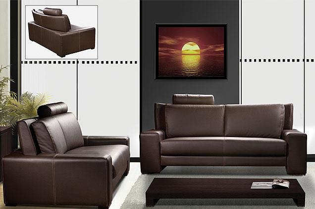 sofa causeuse contemporain