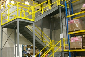 Pre Engineered Steel Stairs From A Mezz Industrial Structures | Prefabricated Exterior Metal Stairs | Stair Case | Spiral Staircases | Stairways | Stair Systems | Wrought Iron