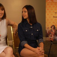 THE DIARY OF A TEENAGE GIRL:   BEL POWLEY AND DIRECTOR MARIELLE HELLER