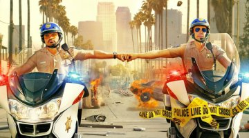 "CHIPS: Dax Shephard and Michael Pena ""Blew Stuff Up Every Day"""