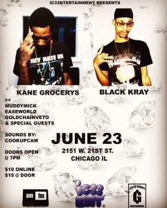 Goth Money Records - Black Kray & Kane Grocerys @ AMFM Gallery  | Chicago | Illinois | United States