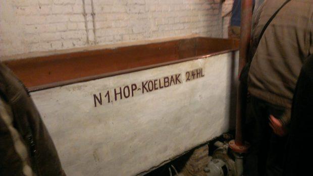 Oud Beersel's 2400 liter coolship