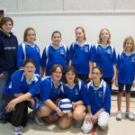 AIPS Girls Volleyball Team. Every girl from grades 5-8 is on the team coached by Mrs. VanDyke, their teacher.
