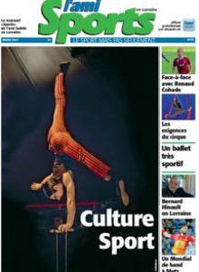 Ami Sport Lorraine 33 HD 1 - Arts du cirque: Quand le sports'incruste sous le chapiteau