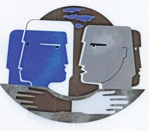 La Tolérance, 1998 -  Logo de l'Association Les Amis de Marcel Rudloff
