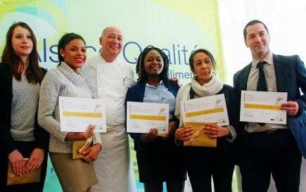 jeunes talents - Les lycéens cuisinent pour Marc Haeberlin