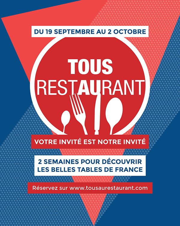 TousAuRestaurant France - 116x170 - Decaux