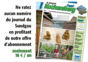 Abonnez-vous au Journal du Kochersberg