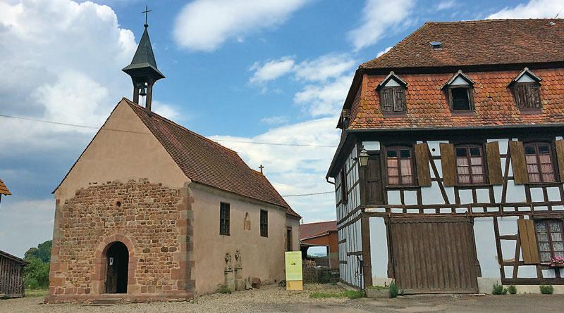 chapelle - Il y a 40 ans renaissait la chapelle du Holzbad