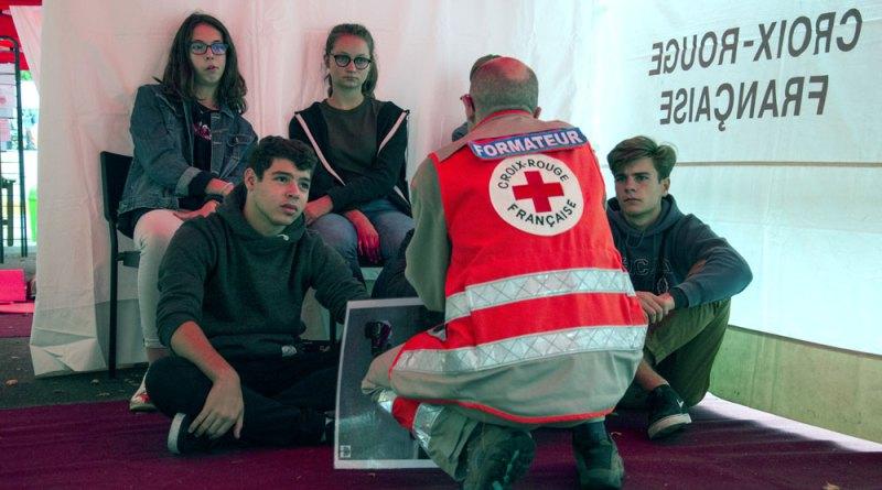 DSC 0137 - Journée mondiale des Premiers secours : «Comment devenir un super-héros?»