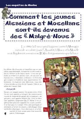 Ami Junior N52 BAT4 - Comment les jeunes Alsaciens et Mosellans sont-ils devenus des « Malgré-Nous »