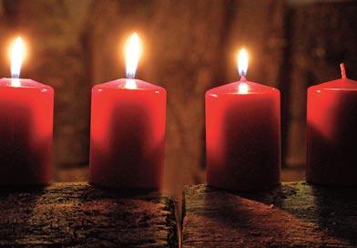 avent - À la lumière des bougies de l'Avent