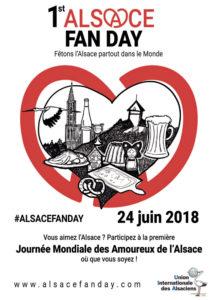 alsacefanday - L'Alsace Fan Day : la journée mondiale des amoureux de l'Alsace