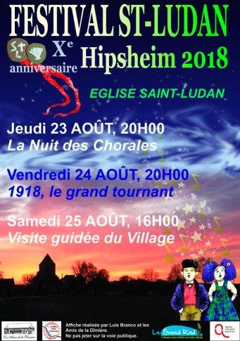 festival st ludan - Le festival Saint-Ludan a dix ans