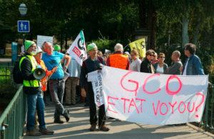 manig anti gco - GCO : le bras de fer se durcit