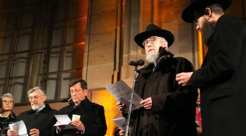 RassemblementInterreligieux 017 - Rassemblement œcuménique contre l'antisémitisme et la haine de l'autre