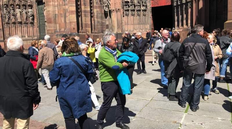 IMG 5195 - Exercice d'incendie à la Cathédrale de Strasbourg