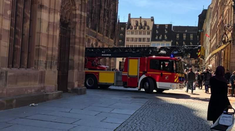 IMG 5207 - Exercice d'incendie à la Cathédrale de Strasbourg