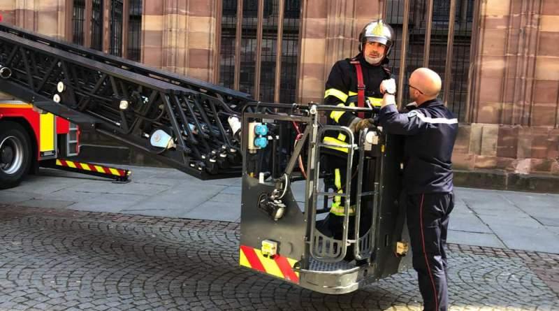 IMG 5228 - Exercice d'incendie à la Cathédrale de Strasbourg