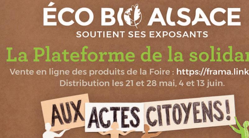 Foire Eco Bio Alsace: l'alternative solidaire