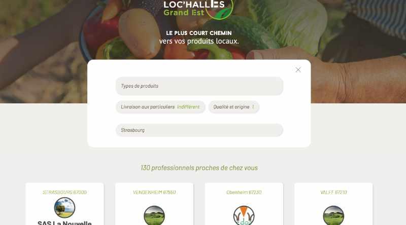 lochalles - Loc'Halles : Produits locaux à portée de clic