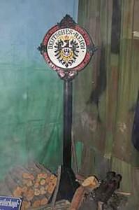 gravelotte poteau frontière - Le Musée de la guerre de 1870 et de l'Annexion