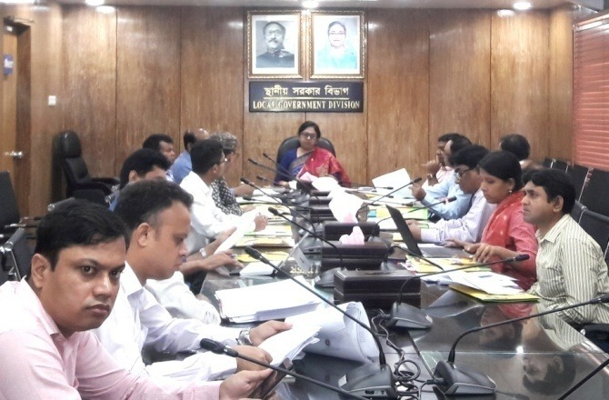 Meeting on review the draft TC guideline for LGIs' held