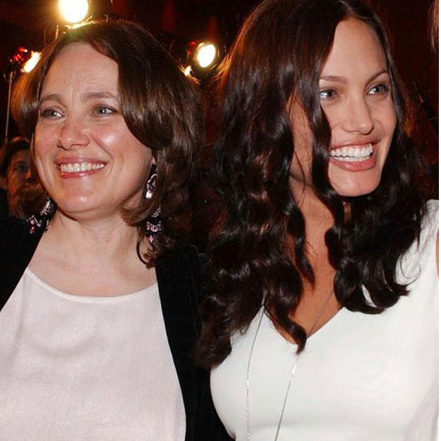 Chie Angelina Jolie and who is Marcheline Bertrand?