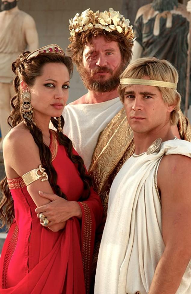 Angelina Jolie, Val Kilmer, Colin Farrell