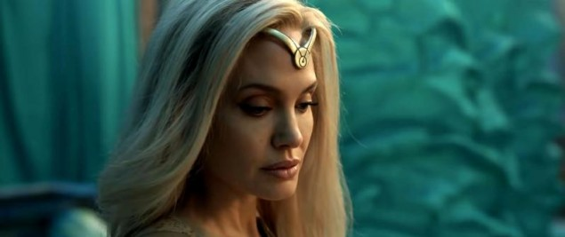 Images of the trailer for marvel's eternals movie,