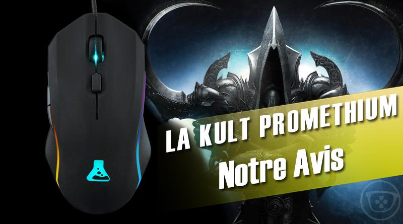 [Avis] La KULT Prométhium – une souris gamer d'une précision mortel