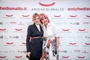Con samantha Catini, ufficio stampa del Beauty Party