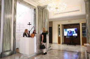 Foto dell'ingresso dell'Hotel Aleph