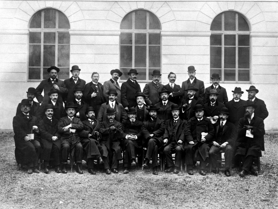 1910 Corpo Docente Preside Orlandi
