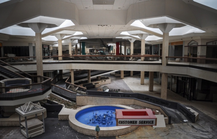 North Randall Mall. Foto di Seph Lawless per The Guardian