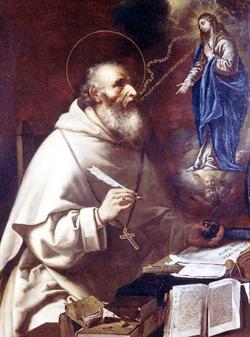 Sant'Alberto Magno e la Madonna