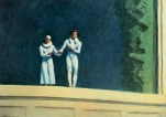 """Due attori""Edward Hopper"