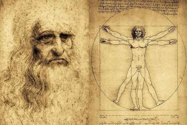 Leonardo e l'Uomo di Vitruvio