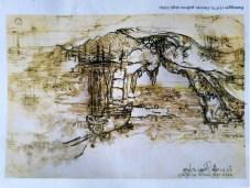 """Il veliero nascosto nel """"Paesaggio con fiume"""""""