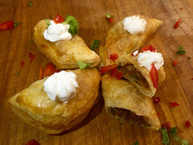Beef Empanadas (or vice versa with Chicken)